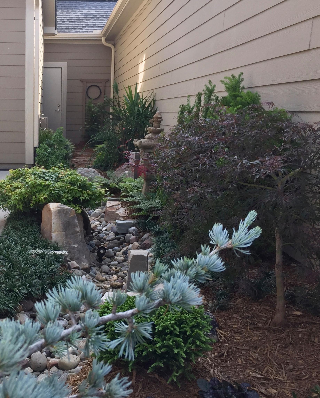 Asian-Inspired Courtyard Garden