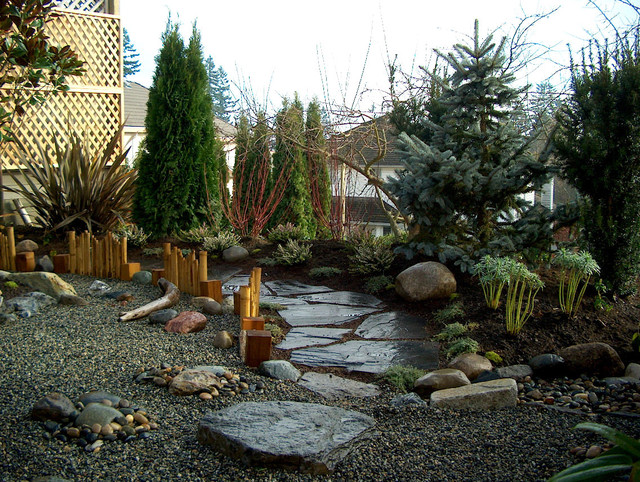 Asian inspired asian landscape other metro by for Asian inspired garden designs
