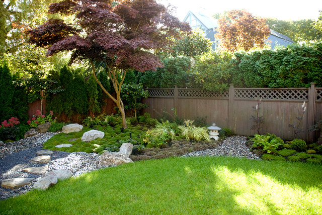 Asian landscape for Backyard japanese garden design ideas
