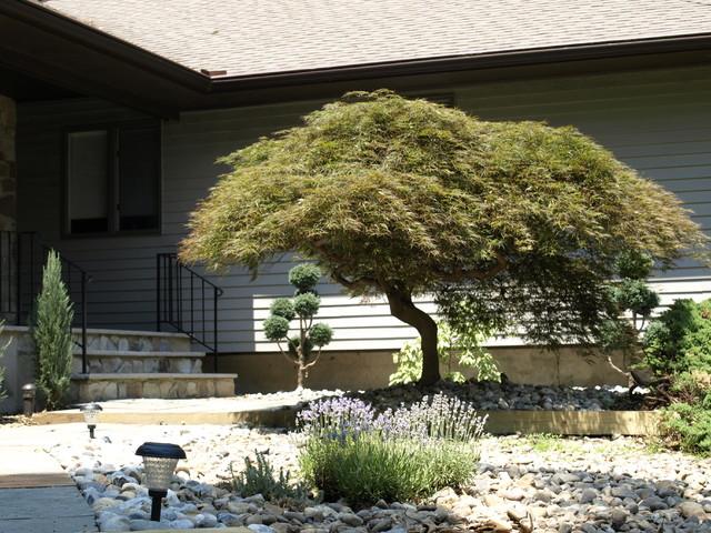 Japanese Style Landscaping japanese style landscaping - asian - garden - new york -dabah