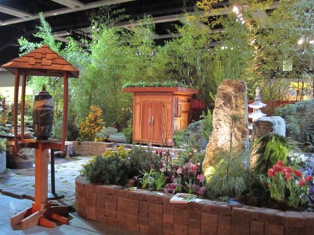 Asian Meditation Garden And Outdoor Room