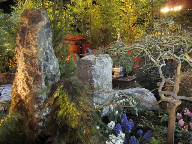 Asian Meditation Garden and outdoor room asian-landscape