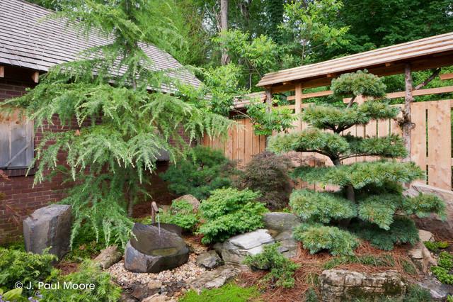 Asian Style Garden Landscape