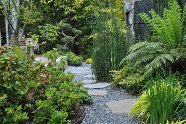 Asian Themed Garden Palo Alto CA Landscape San Francisco By Modern Landscaping