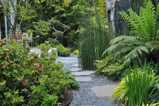 asian themed garden palo alto ca asian landscape san francisco by modern landscaping. Black Bedroom Furniture Sets. Home Design Ideas