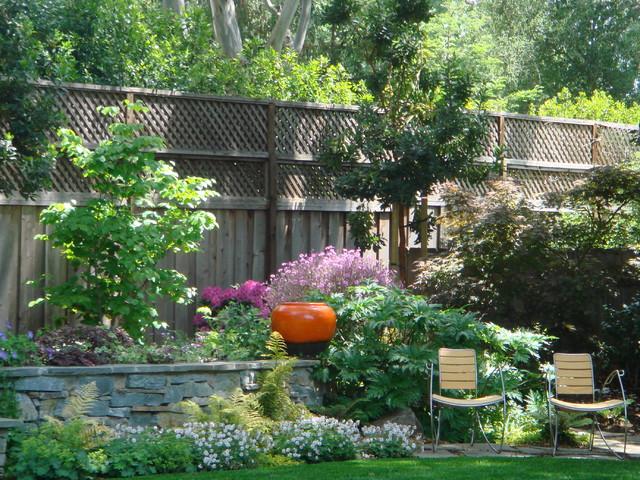 Atherton garden contemporary-landscape
