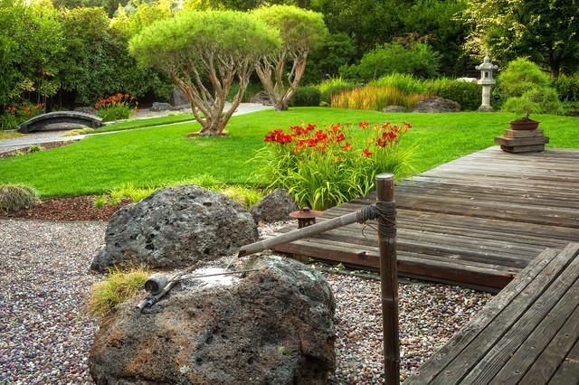 Atherton Japanese Garden - Asian - Landscape - San Francisco - by ... - japanese garden landscape design