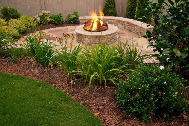 Cozy Backyard Retreat - Contemporary - Landscape - atlanta - by The ...
