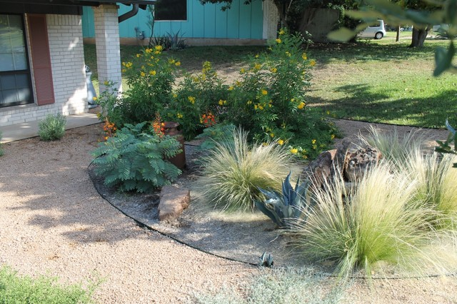 Austin Native Landscaping Portfolio Colorful Texas
