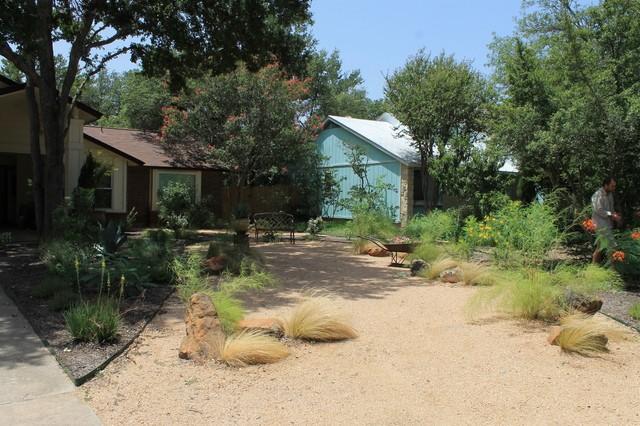Austin Native Landscaping Portfolio Decomposed Granite