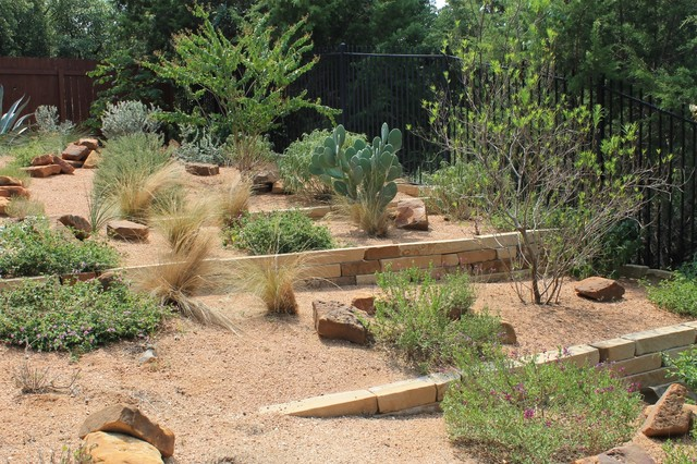 Austin Native Landscaping - Portfolio - Terraced Texas Native Plants  Landscaping - Austin Native Landscaping - Portfolio - Terraced Texas Native Plants