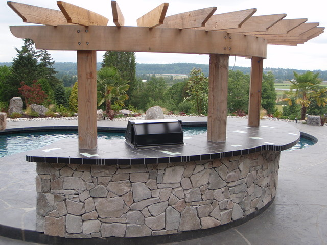 award winning project poolside barbecue moderne jardin vancouver par cavalry. Black Bedroom Furniture Sets. Home Design Ideas