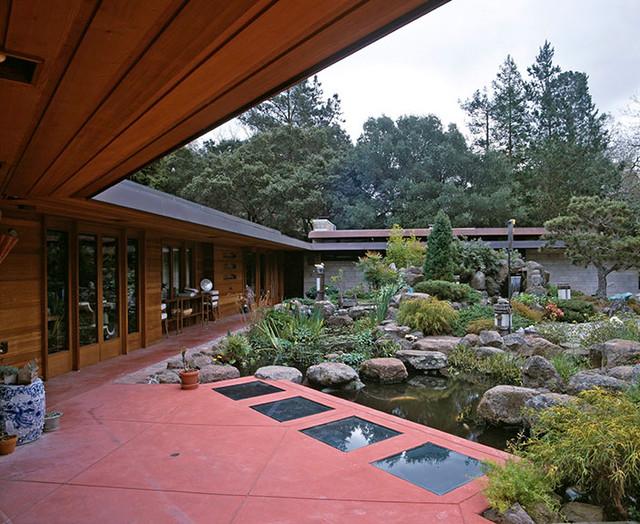 hohe Qualität schöner Stil super beliebt Award Winning Rebuild of Orinda Frank Lloyd Wright House ...