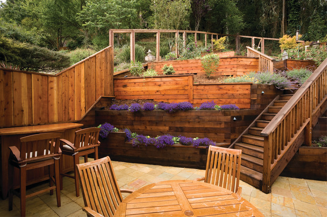 Photo of a landscaping in San Francisco. Email Save. Janet Moyer Landscaping - Award Winning Terraced Garden - Landscape - San Francisco - By Janet