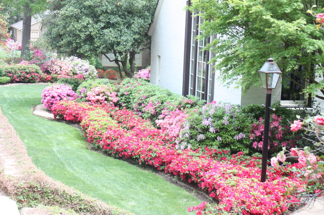 azalea tours in tyler tx traditional landscape