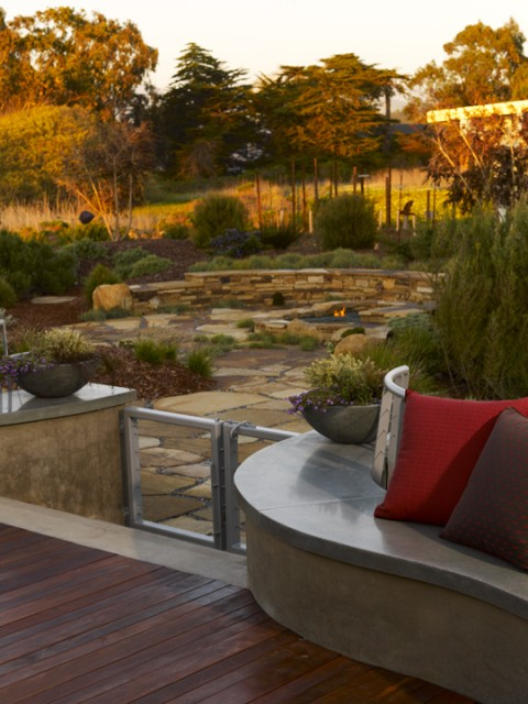 Back Bay Retreat contemporary landscape