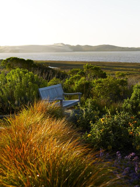 Back Bay Retreat beach-style-landscape