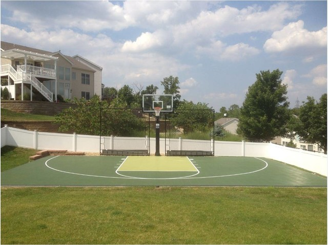 South County Sport Court Project traditional-landscape