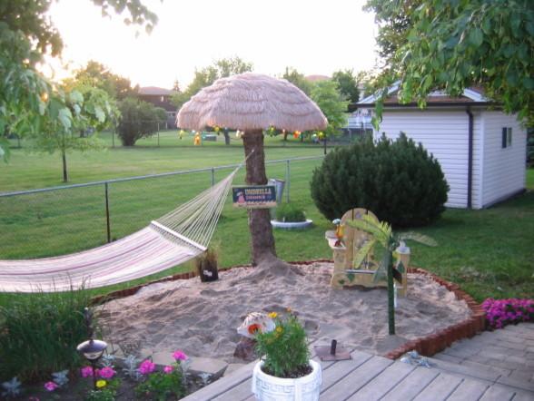 Backyard Beach - Backyard beach ideas