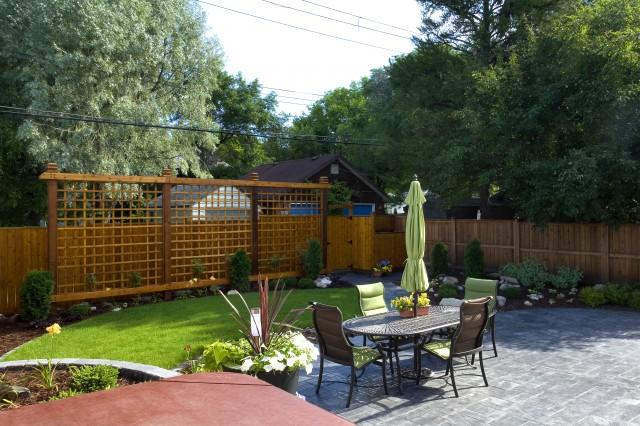 Backyard Contemporary Landscape Other By