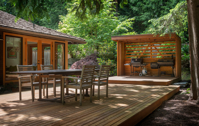 Backyard Forest Design : Backyard Forest  Modern  Landscape  seattle  by Imprint
