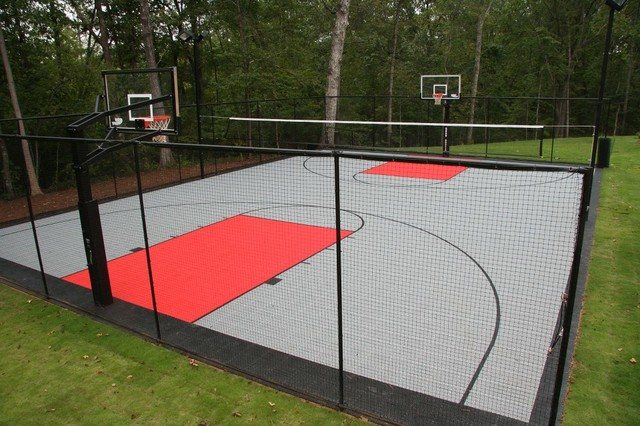 Backyard Game Court For All Sport Landscape Other