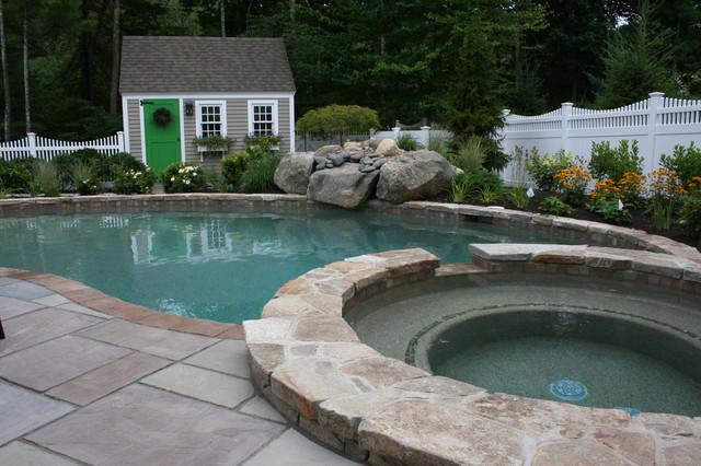 Backyard Haven eclectic-landscape