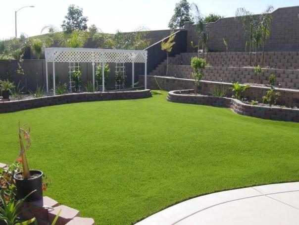 Backyard Installations traditional-landscape