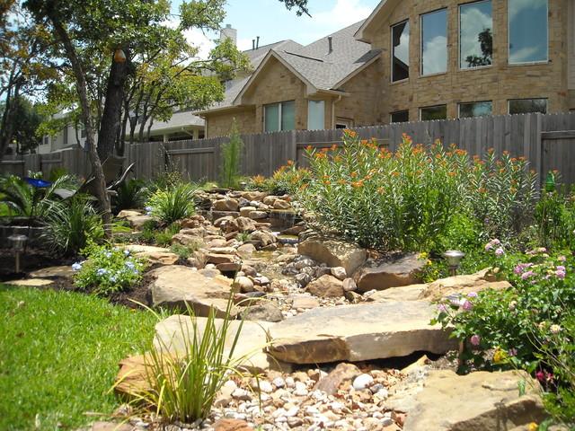 Backyard landscape design - American Southwest - Garden ... on Southwest Backyard Ideas id=27701