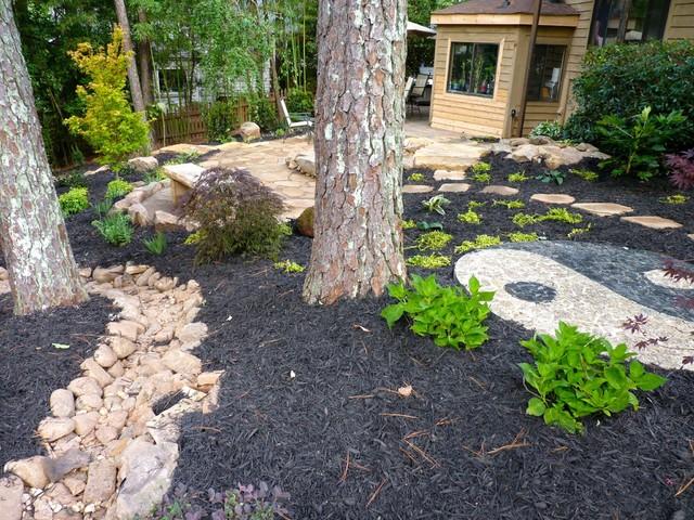 Backyard Makeover Asiatique Jardin Atlanta Par Outdoor Makeover Construction