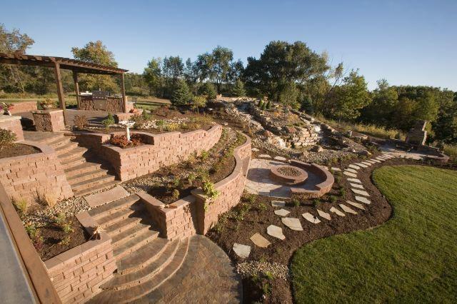 Backyard Makeover traditional-landscape