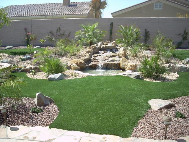 Backyard Oasis contemporary-landscape
