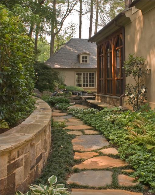 Backyard Oasis traditional-landscape