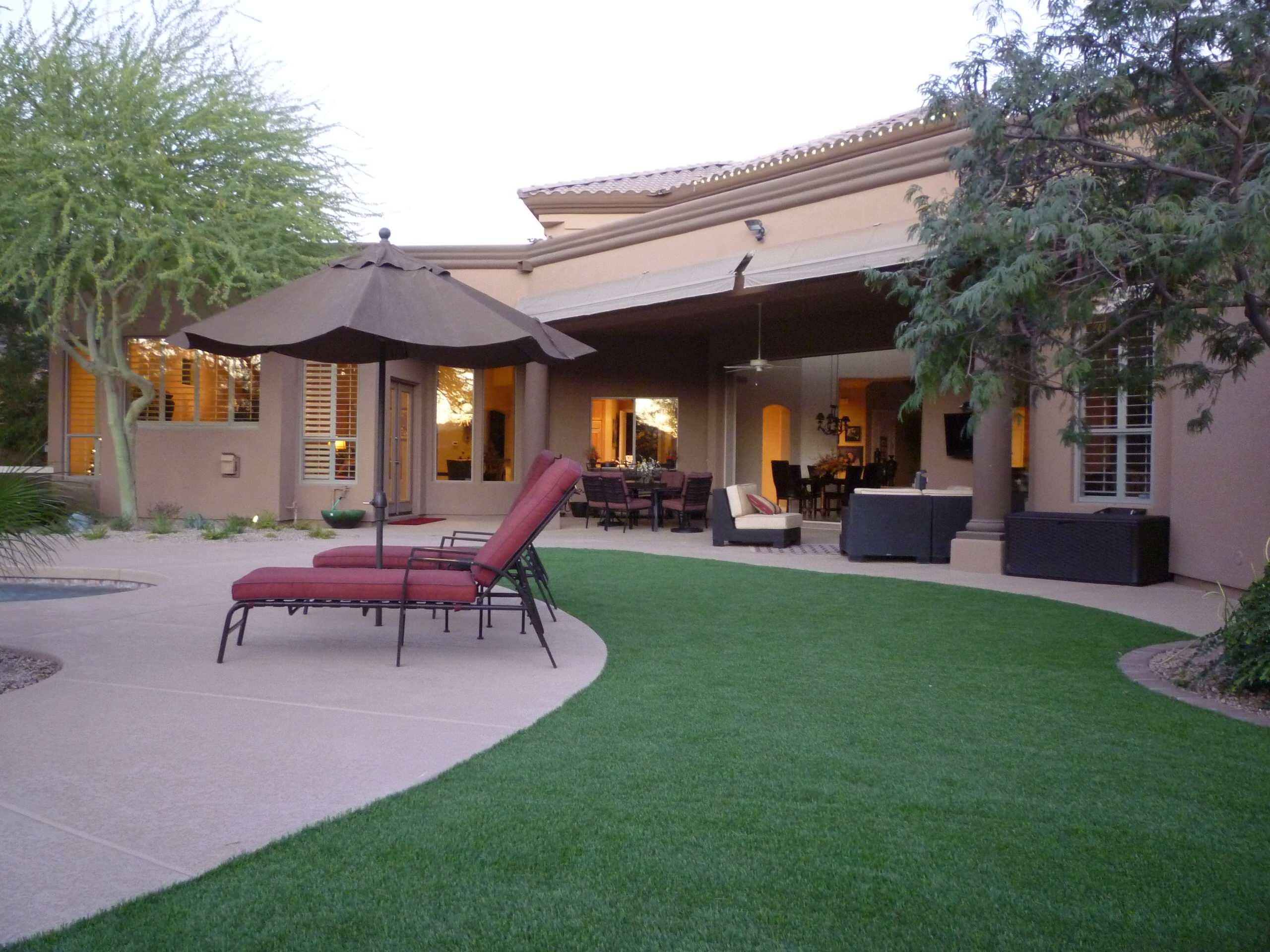 Backyard Patio & Landscape