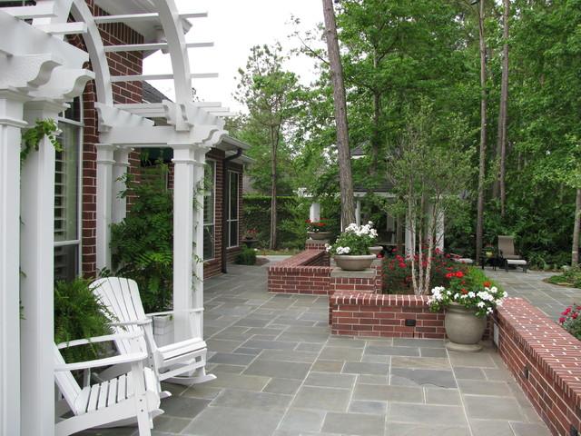 Marvelous Backyard Pool, Landscape And Patio Traditional Landscape