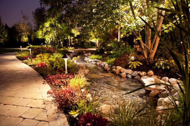 Backyard Rainforest Garden Tropical Landscape Toronto By
