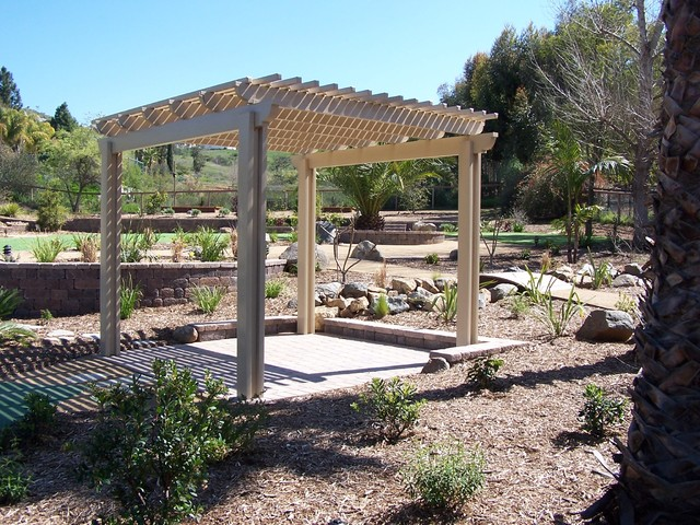 Backyard Remodel & Landscaping contemporary-landscape