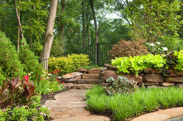 Backyard Resort traditional-landscape