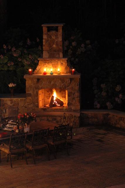 Backyard Retreat traditional-landscape