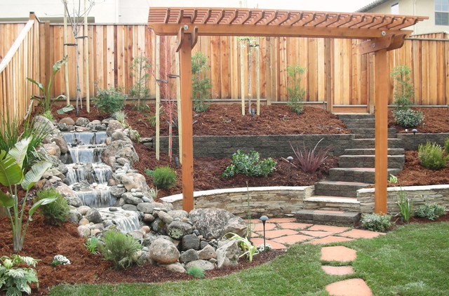 Backyard Spaces traditional-landscape