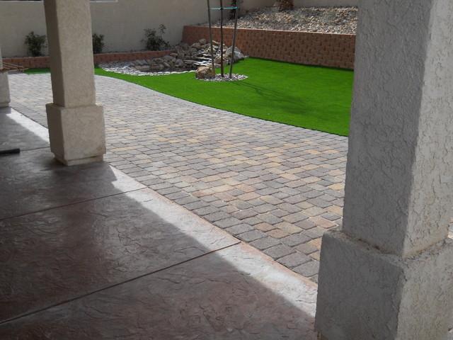 Backyard Tropical Landscape Las Vegas By