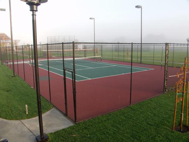 backyard tennis courts