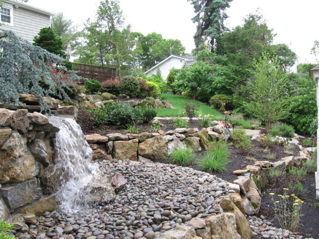 Backyard Waterfalls, Waterless Waterfalls, Fish Ponds & More