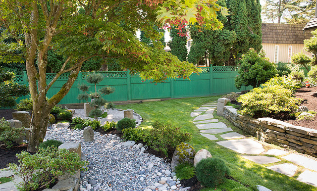 Backyard zen garden asian landscape vancouver by for Backyard zen garden design