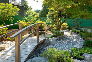 Backyard Zen Garden Asian Garden Vancouver by Paeonia Gardens