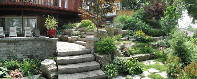 Landscaping ideas for small backyards toronto for Garden design ideas toronto