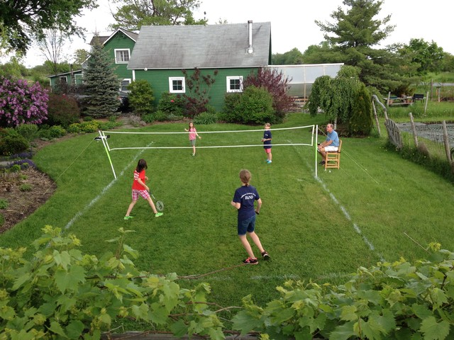 Badminton Court Farmhouse Landscape Burlington By