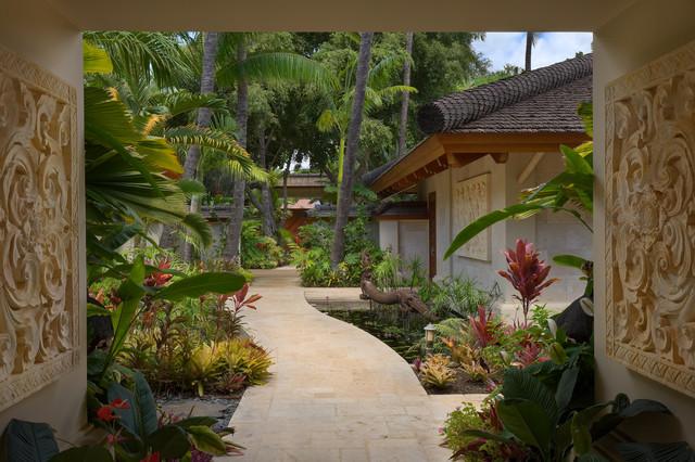 Bali House - Tropical - Landscape - Hawaii - by Rick ...