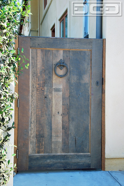 Barn Wood Rustic Architectural Side Amp Entry Gates