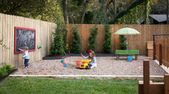 4 Stylish Yards That Include Play Areas for Kids